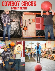 Photo of Cowboy Circus with Danny Grant